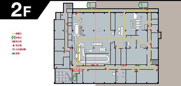 食品工場避難経路図デザイン ... : 県庁 地図記号 : すべての講義